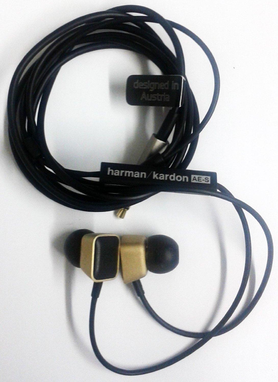 b09fe353371 Get Quotations · Harman Kardon AE High-performance In-ear Headphones Golden