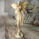 Resin fair figurine angel statue,small angels and fairy figures