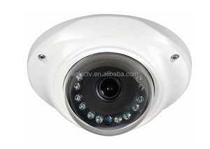 HD Sony 600TVL Andal proof cctv dome camera for bus/Train wide angle Vandalproof rate IK10