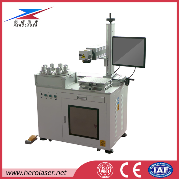 20w 50w LED bulbs laser marking laser printing Metals/Plastic/Steel/Titanium/Copper Fiber Laser Marking engraving Machine