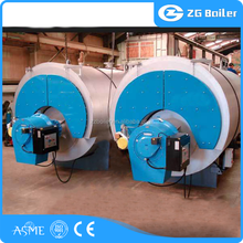 Chemical industry used high efficiency gas fired hot water boilers lpg and natural gas