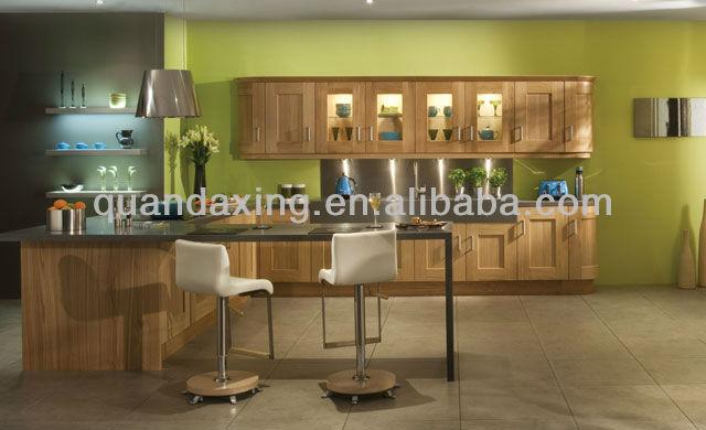 Light roble mueble cocina muebles de cocina de madera - Cocinas de madera de roble ...
