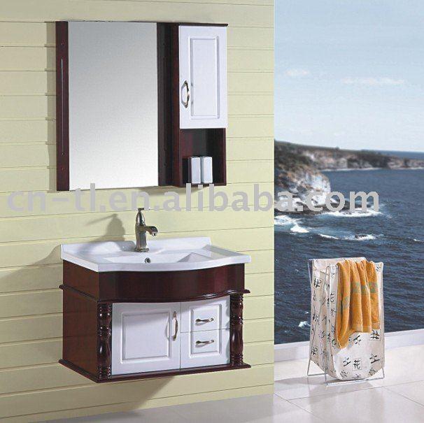 Gabinetes Para Baños De Pared:Cereza gabinetes de baño de pared-Tocadores de Baño-Identificación