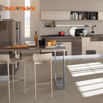2018 latest lacquer cupboard modern italian kitchen design new home