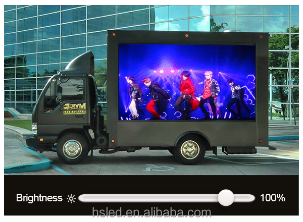 5mm SMD LED Ads display PH5 SMD Truck LED Screen