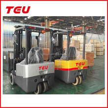 China Battery Forklift Electric Forklift Three wheels and Four Wheels 1.5 ton 2 on