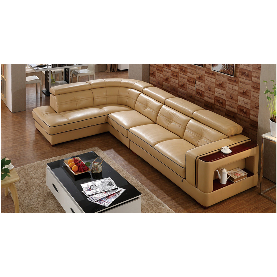6817 china cheap import home furniture modern simple nice 1 2 3 good quality leather sofa