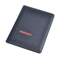 A4 Leather Compendium/pu Portfolio/file Folder With Logo Embossed
