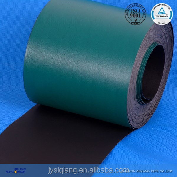green&black writing pad machines flat transmission belt&palletizer flat drive belt manufacturer&antistatic