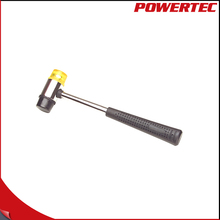 POWERTEC 25mm Interchangeable Double-Face Soft Mallet Steel Tube Handle