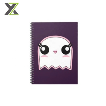 High quality Halloween design soft cover cute spiral note books