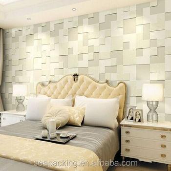 Modern Simple 3d Mosaic Living Room Non Woven Wallpaper Background Clothing 10m Buy Bulk Clothing 3d Custom Girl Mods Clothing Inner Clothing