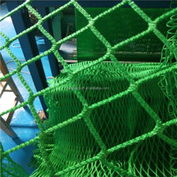 China high quality green nylon wire rope truck / car Cargo net for sale competitive price