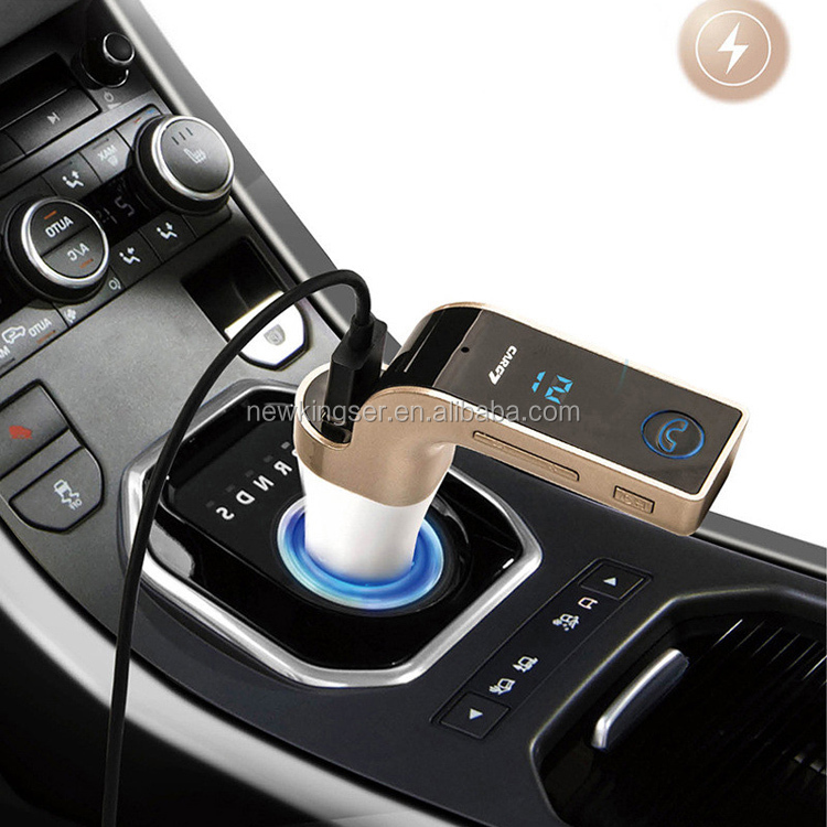 G7 Wireless Car Kit Handsfree FM Transmitter Radio MP3 Player USB Charger