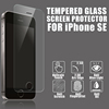 China professional manufacturer !! Cell phone anti-fingerprint 2.5d tempered glass screen protector for iphone 5 5c 5s
