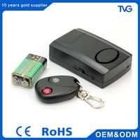Window Door Magnetic Vibration sensor panic alarm with remote