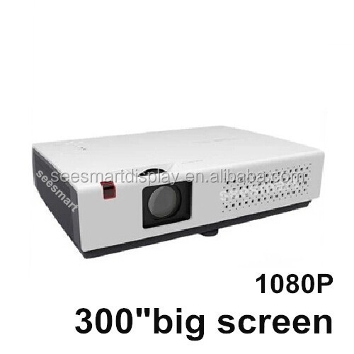 brightness 5500 lumens full HD projector 3 LCD Led lamp 3D educaton projector