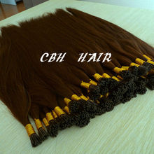 Russian Double drawn 1g strand hot fusion prebond hair