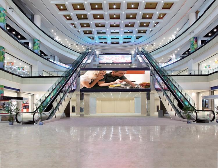 Stainless Steel Escalators : Stainless steel aluminum escalator in public buy