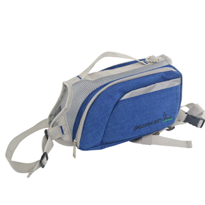 frosted snow material dog backpack saddle bag