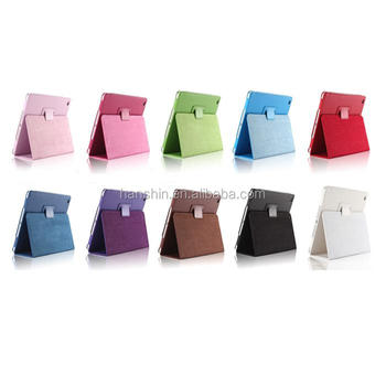 Good Quanlity Cheaper Leather Case for Ipad min1,2,3,With Stand Up Function