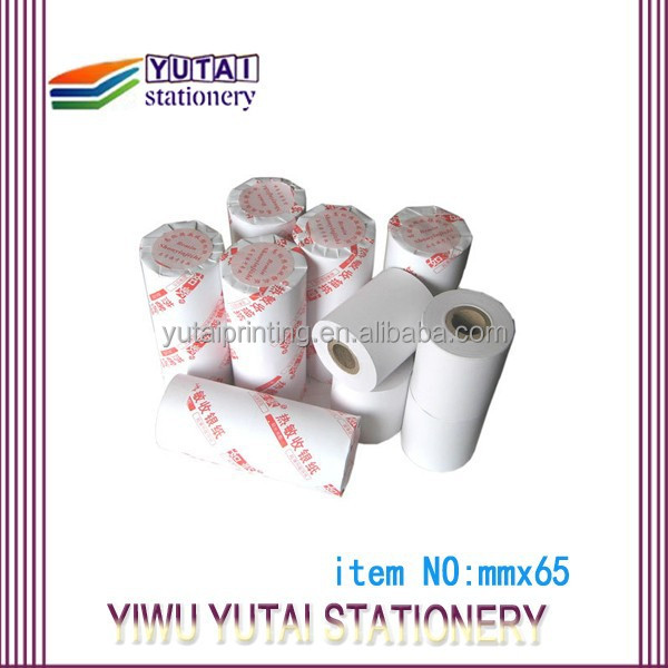 thermal paper roll tax use from China manufacture