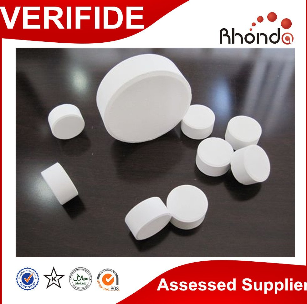 We are the largest supplier tcca 90% chlorine tablet 3g5g20g200g swimming pool chemical in China