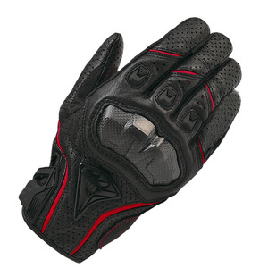 custom made motorcycle leather motorcycle gloves for led light