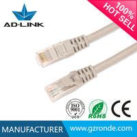 High reliability 24AWG Copper Fire Retardant PVC cat5e SFTP RJ45 110 Patch Cord Cable