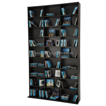Dvd Cd Storage Shelf Rack Media