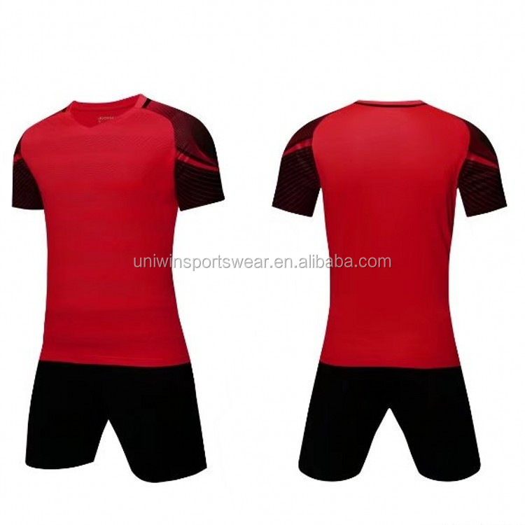 Football kit customized cheap price thai quality soccer jersey kids