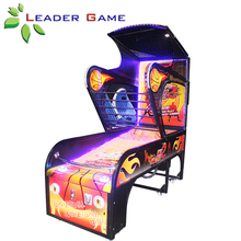 Luxury Amusement Coin Operated Street Basketball Arcade Game Machine For Sale
