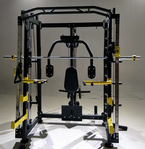2017 hot sale gym fitness equipment commercial smith machine parts price