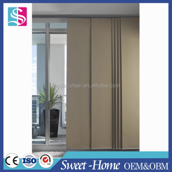 Fancy Sample Warmth Magnet Blackout Vertical Blind Curtains