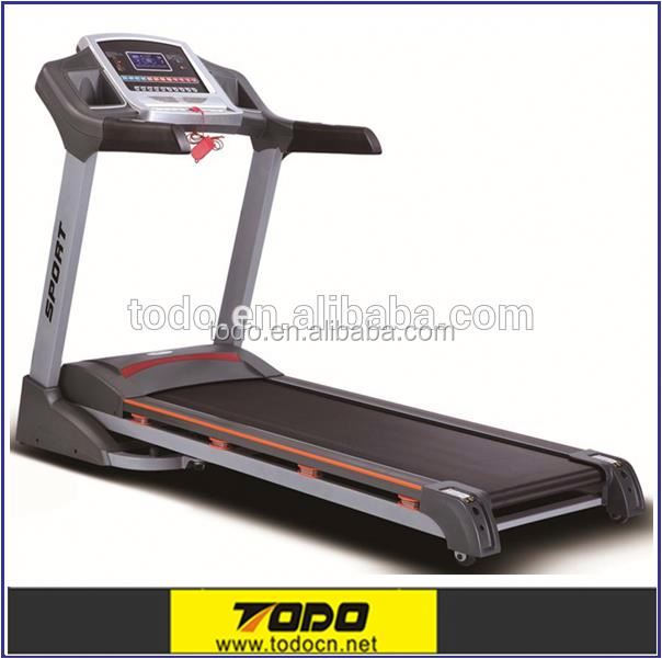 Indoor Sports Equipment Body Building Machine Gym Equipment Multi-function Pro Fitness Motorised Folding Treadmill