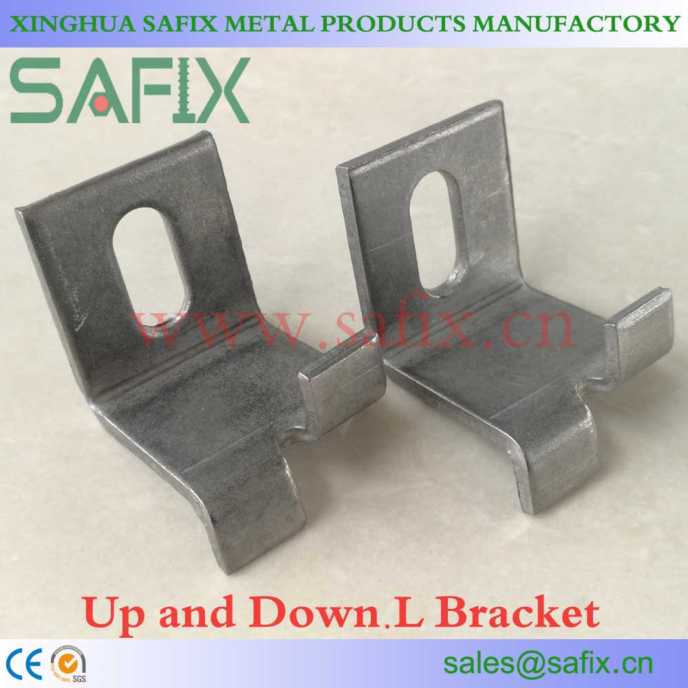 304 316L Stainless Steel Up Down Bracket For Stone Cladding