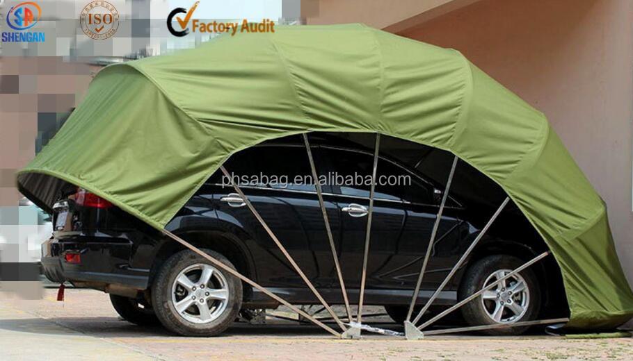 faltbare auto zelt folding fahrzeug garage shelter freien. Black Bedroom Furniture Sets. Home Design Ideas