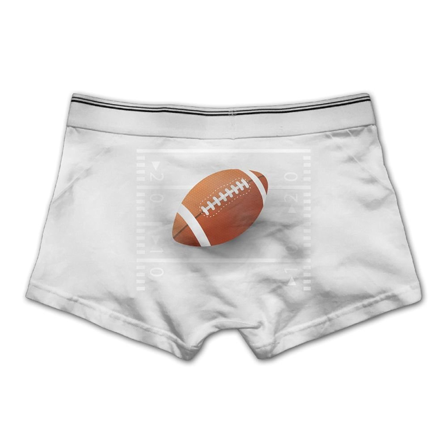 Shipshape Men's Underpants Boxer Briefs American Football Rugby Underwear Low Waist Cotton No Trace