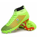 2016 Men High Ankle Soccer Shoes FG Football Boots Sport Trainers Soccer Cleats Football Boots big