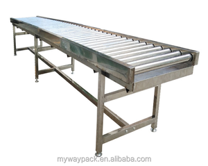 Food grade assembly line belt conveyor /industrial roller conveyor belt