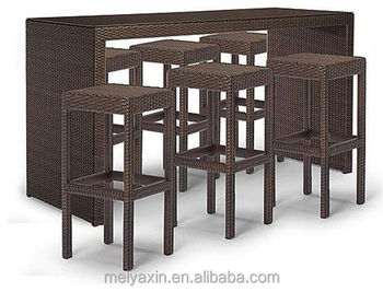 Mb 6022 Mimosa Outdoor Furniture Australia Rattan Outdoor Bar Set Buy Outdoor Bar Set Rattan