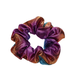 Pu Leather Kids Hair Tie Girls Elastic Scrunchies Ponytail Holder For Women