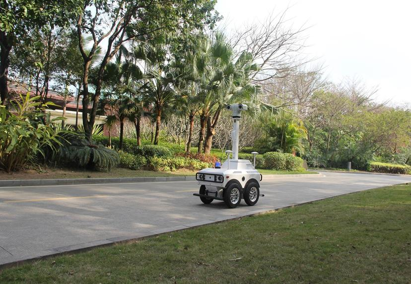Intelligent Autonomy patrol Security Patrol Robot XZZ-A Series