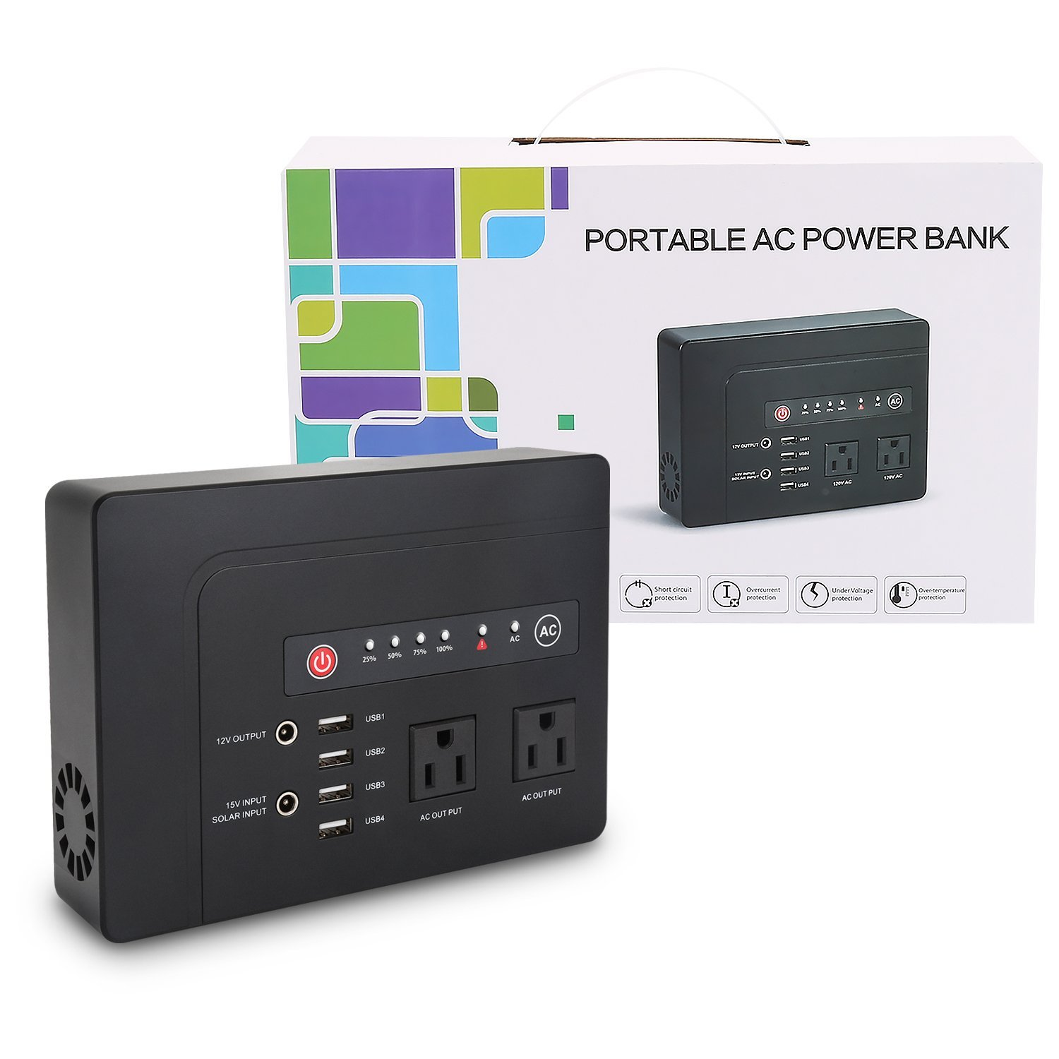 All in one solar inverter for home appliances UPS car charger battery backup inverter off grid inverter charger