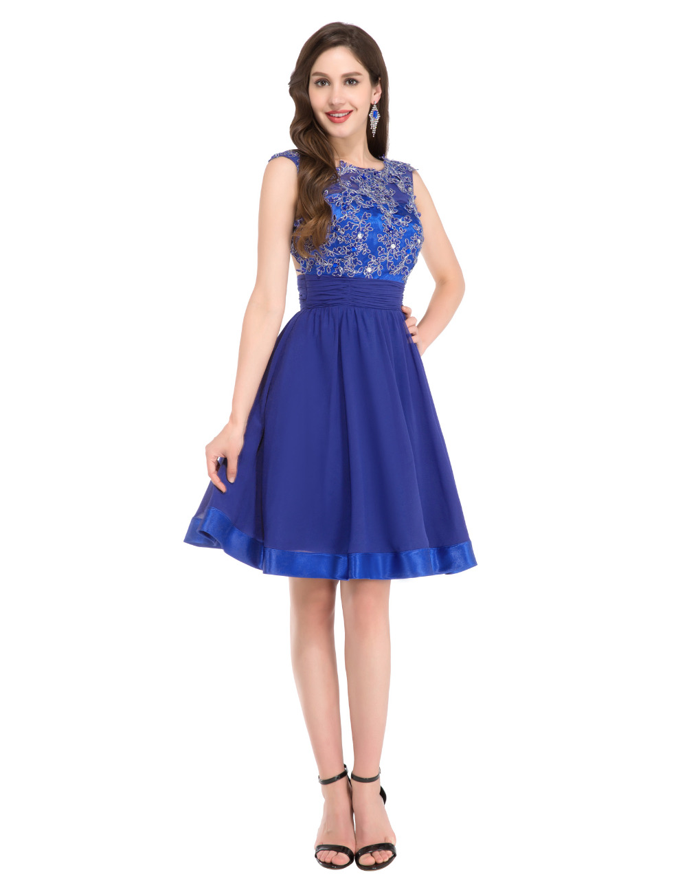 Special Occasion Dresses In Royal Blue 12