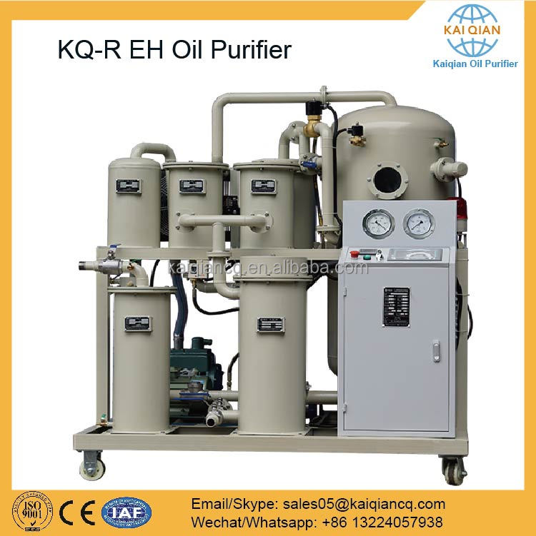 KQ-R Series High Vacuum EH Oil Recondition in Power System