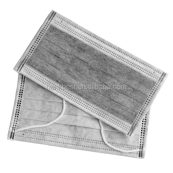 Industrial Active Carbon Disposable Nonwoven Dust Mask
