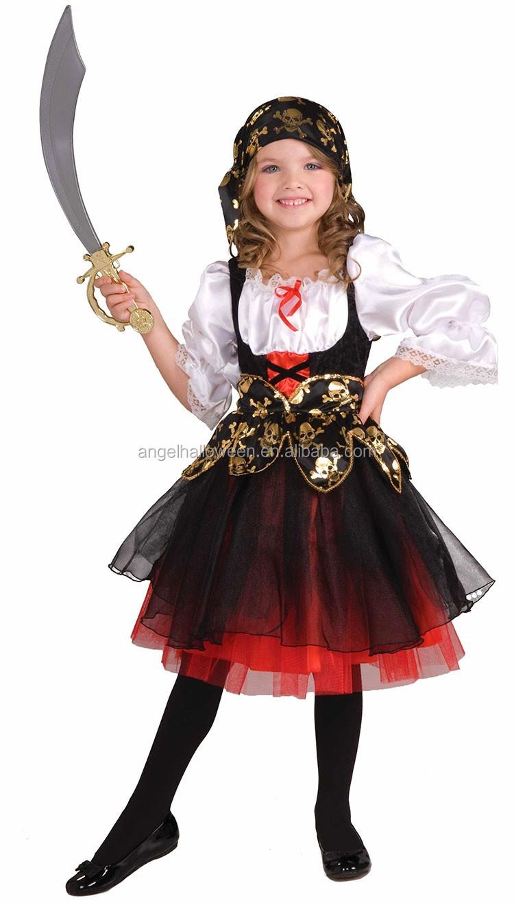 Harley Quinn Costume Kids Superhero Girl Halloween Fancy Dress ...