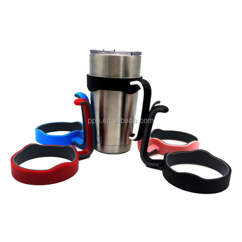 2016 New Arrived Hot Sale Plastic <strong>Handle</strong> For 20oz Tumbler Wholesale Plastic Rambler Holder For 20 OZ Cooler In Stock