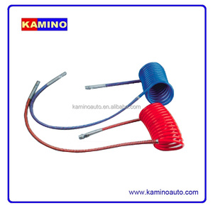 COIL AIR BRAKE HOSE PA12 HOSE AIR HOSE DOT RED COLOUR BLUE COLOUR
